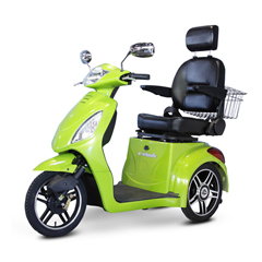 EWHEW-36G-Slowpoke - EWheels(EW-36) Slowpoke 3-Wheel Scooter with Electromagnetic Brakes