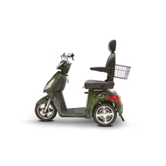 EWHEW-36GRNCM-Slowpoke - EWheels - (EW-36) Slowpoke 3-Wheel Scooter with Electromagnetic Brakes