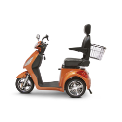 EWHEW-36O ELITE - EWheels(EW-36) Elite 3-Wheel Scooter with Electromagnetic Brakes