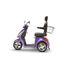 EWHEW-36P ELITE - EWheels(EW-36) Elite 3-Wheel Scooter with Electromagnetic Brakes