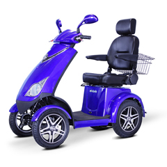 EWHEW-72B - EWheels(EW-72) 4-Wheel Heavy Duty Scooter with Electromagnetic Brakes