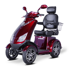 EWHEW-72R-WHITEGLOVE - EWheels(EW-72) 4-Wheel Heavy Duty Scooter with Electromagnetic Brakes + White Glove Delivery