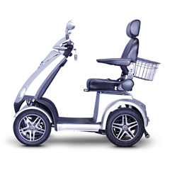 EWHEW-72S - EWheels(EW-72) 4-Wheel Heavy Duty Scooter with Electromagnetic Brakes