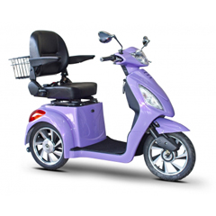 EWHEW-85GR - EWheels(EW-85) Jellybean Collection 3-Wheel Mobility Scooter