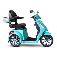 EWHEW-85SF - EWheels(EW-85) Jellybean Collection 3-Wheel Mobility Scooter