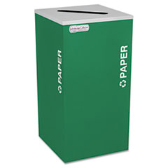EXCRCKDSQPEGX - Ex-Cell Kaleidoscope Collection™ Recycling Receptacle