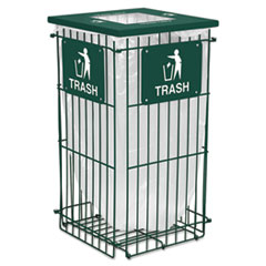 EXCRGU1836THGR - Ex-Cell Clean Grid™ Fully Collapsible Waste Receptacle