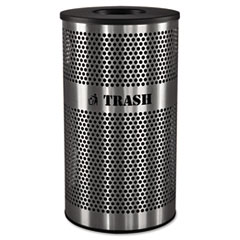 EXCVCT33PERFS - Ex-Cell Stainless Steel Trash Receptacle