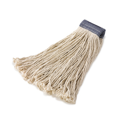RCPF158WHI - Non-Launderable Premium Cut-End Cotton Wet Mop Heads