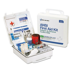 FAO90566 - First Aid Only™ ANSI 2015 Compliant First Aid Kit