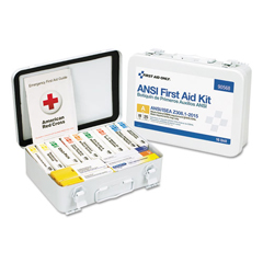 FAO90568 - First Aid Only™ Unitized ANSI 2015 Compliant First Aid Kit