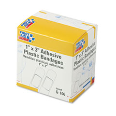 FAOG106 - First Aid Only™ Adhesive Plastic Bandages