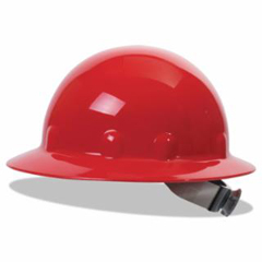 FBM280-E1RW15A000 - Fibre-Metal - SuperEight Hard Hats, 8 Point Ratchet, Red