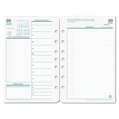 FDP3541915 - FranklinCovey® Original Dated Two-Page-per-Day Planner Refill