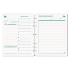 FDP3542715 - FranklinCovey® Original Dated Two-Page-per-Day Planner Refill
