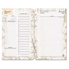 FDP3543815 - FranklinCovey® Blooms® Dated Daily Planner Refill