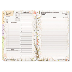 FDP3544415 - FranklinCovey® Blooms® Dated Daily Planner Refill