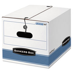 FEL0002501 - Bankers Box® STOR/FILE™ Extra Strength Storage Boxes