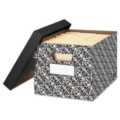 FEL0022705 - Bankers Box® STOR/FILE™ Decorative Medium-Duty Storage Boxes
