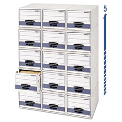 FEL00312 - Bankers Box® STOR/DRAWER® STEEL PLUS™ Extra Space-Savings Storage Drawers