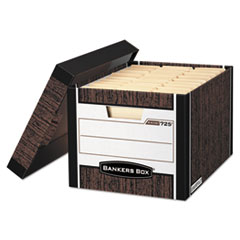 FEL00725 - Bankers Box® R-KIVE® Maximum Strength Storage Boxes