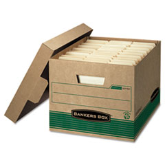 FEL12770 - Bankers Box® STOR/FILE™ Extra Strength 100% Recycled Storage Boxes