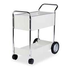 FEL40922 - Fellowes® Steel Mail Cart