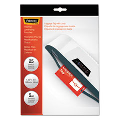 FEL52003 - Fellowes® Laminating Pouches