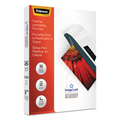 FEL5204002 - Fellowes® ImageLast™ Laminating Pouches with UV Protection