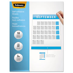 FEL5221501 - Fellowes® Self-Laminating Sheets