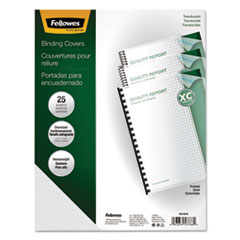 FEL5224201 - Fellowes® Futura™ Premium Heavyweight Poly Presentation Covers for Binding Systems