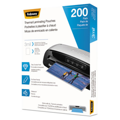 FEL5743401 - Fellowes® Laminating Pouches, Letter Size