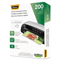 FEL5743601 - Fellowes® Laminating Pouches, Letter Size