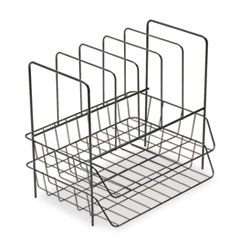 FEL72371 - Fellowes® Wire Double Tray with File Sorter