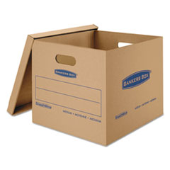 FEL7717201 - Bankers Box® SmoothMove™ Classic Moving and Storage Boxes