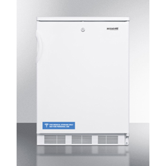 SMAFF6LBIADA - Summit Appliance - Accucold Medical® ADA Compliant All-Refrigerator for Built-In General Purpose Use with Lock, Automatic Defrost Operation and White Exterior