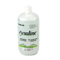 FND320004550000 - Honeywell Fendall Eyesaline Eyewash Refill Bottles for Single or Double Eyewash Wall Stations.