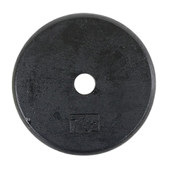 FNT10-0603 - Fabrication EnterprisesIron Disc Weight Plate - 7.5 lb