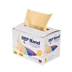 FNT10-1074 - Fabrication Enterprises - Rep Band® Exercise Band - Latex Free - 6 Yard - Peach, Level 1