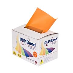 FNT10-1075 - Fabrication Enterprises - Rep Band® Exercise Band - Latex Free - 6 Yard - Orange, Level 2