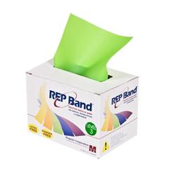FNT10-1076 - Fabrication Enterprises - Rep Band® Exercise Band - Latex Free - 6 Yard - Lime, Level 3