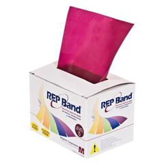 FNT10-1078 - Fabrication Enterprises - Rep Band® Exercise Band - Latex Free - 6 Yard - Plum, Level 5