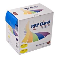 FNT10-1092 - Fabrication Enterprises - Rep Band® Exercise Band - Latex Free - 50 Yard - Blueberry, Level 4