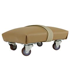 FNT10-1130 - Fabrication Enterprises - Exercise Skate - Foam Padded and Upholstered - Small - 6 x 6