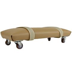 FNT10-1131 - Fabrication Enterprises - Exercise Skate - Foam Padded and Upholstered - Large - 6 x 12