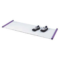 FNT10-1137 - Fabrication Enterprises - 360 Slide Board with 2 Booties - 6 L x 22 W