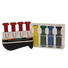 FNT10-3742S - Fabrication Enterprises - Digi-Flex Multi® - Progressive Starter Pack - Frame and 4 Red (Light), 1 Yellow, 1 Green, 1 Blue, 1 Black Buttons