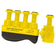FNT10-3761 - Fabrication Enterprises - Digi-Flex Thumb® - Yellow (x-Light)