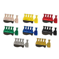 FNT10-3768 - Fabrication Enterprises - Digi-Flex Thumb® - Set of 8 (1 Each: Tan, Yellow, Red, Green, Blue, Black, Silver, Gold)