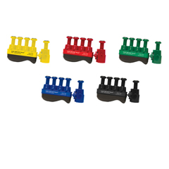 FNT10-3769 - Fabrication EnterprisesDigi-Flex Thumb® - Set of 5 (1 Each: Yellow, Red, Green, Blue, Black), No Rack
